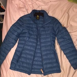 Light Blue Burton winter coat